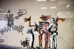 Straatkunst van Banksy