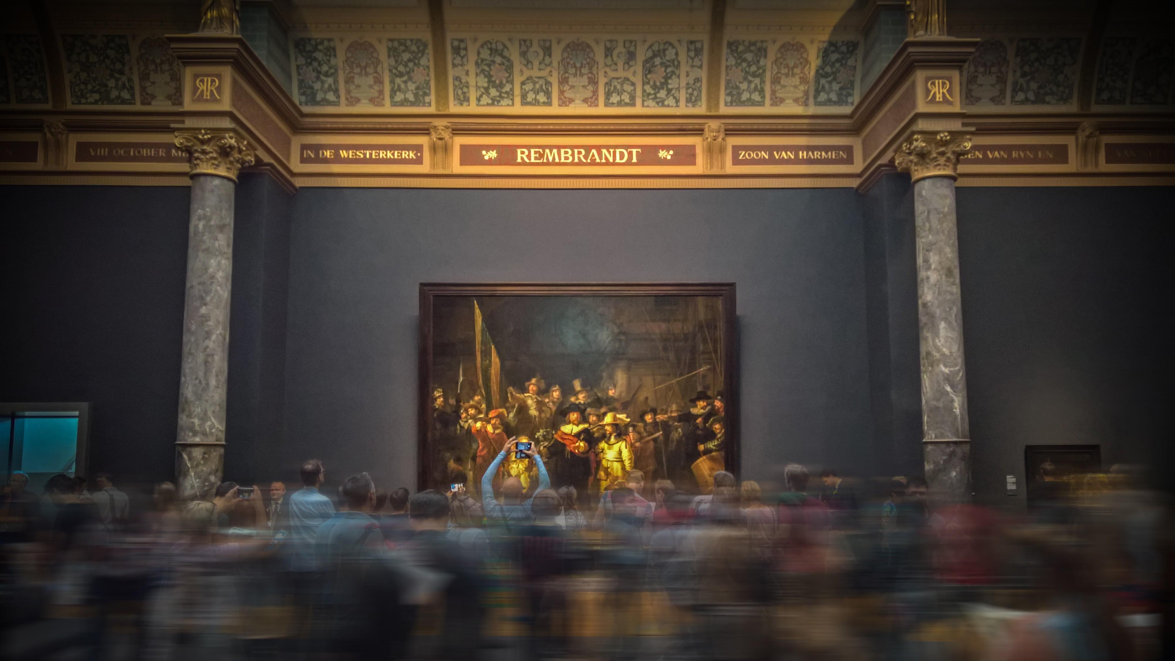 Bekijk de Nachtwacht van Rembrandt